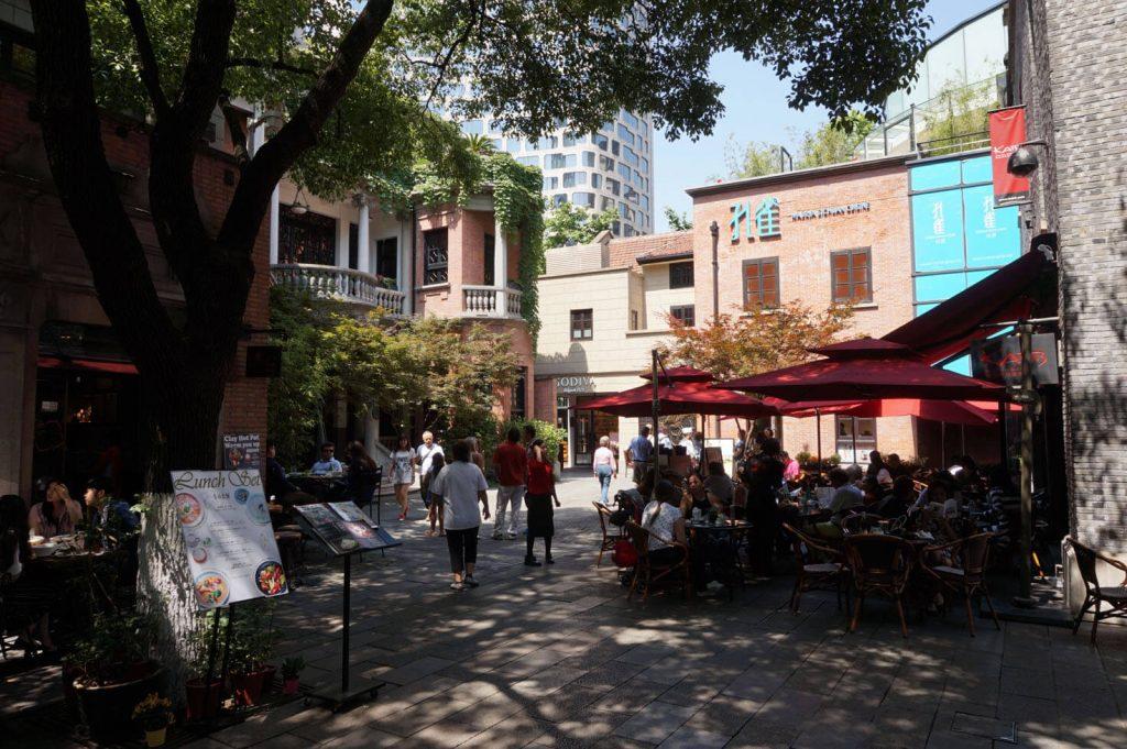 Shanghai Pedestrian Areas - Xintiandi