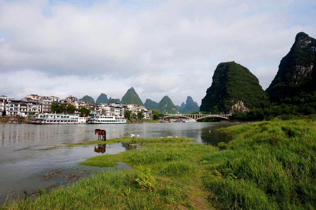 Li River in Guangxi