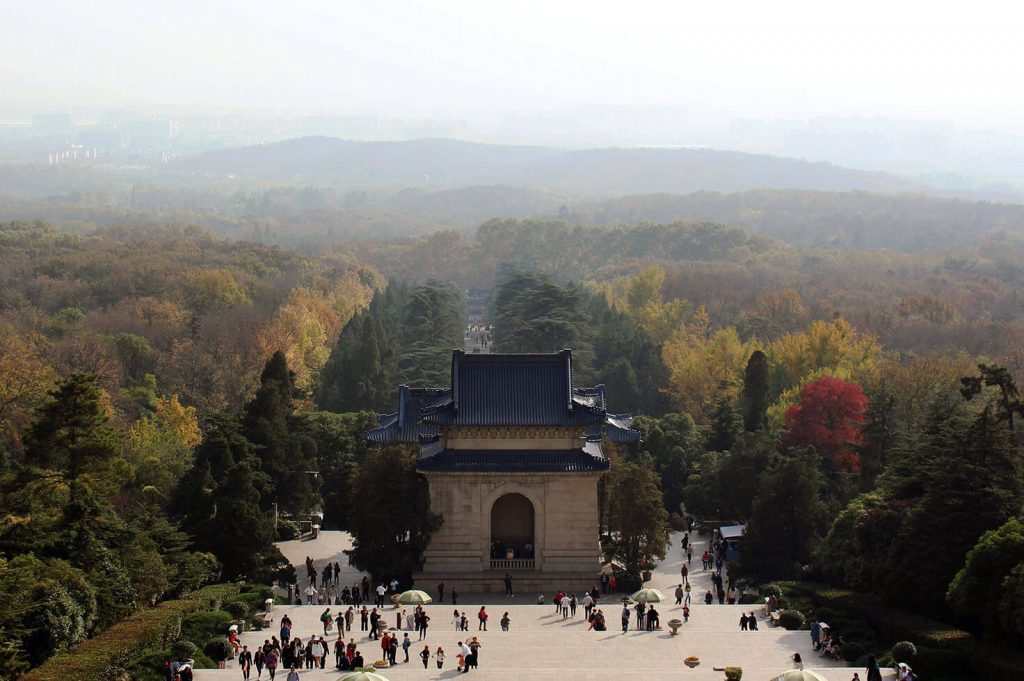 Dr. Sun Yat-sen's Mausoleum