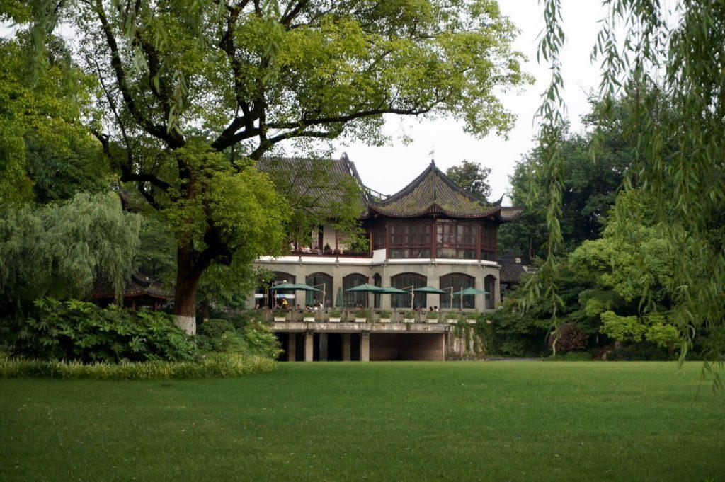Café in the park