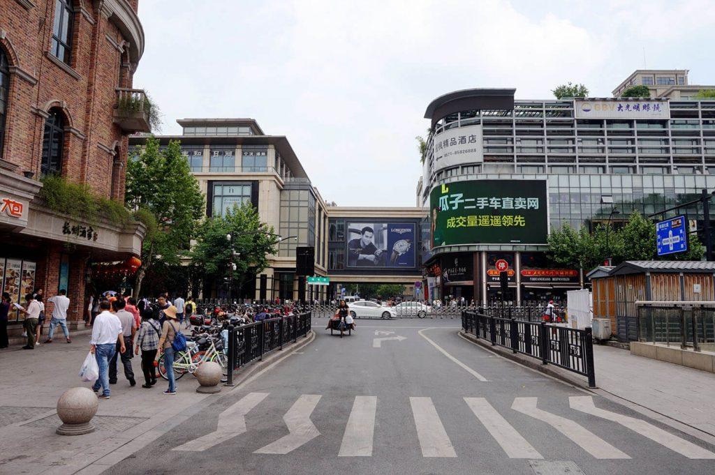 Hangzhou city center