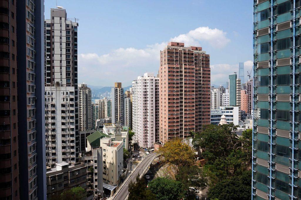 View from Hong Kong University