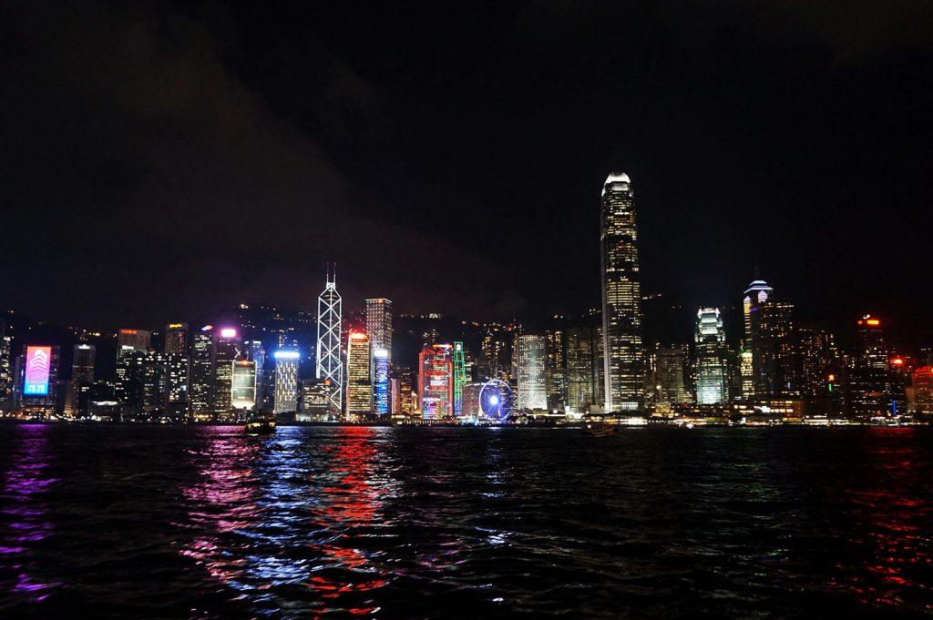 Hong Kong from Victoria Harbor