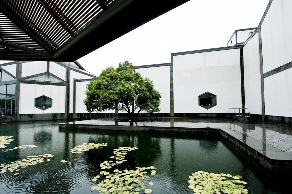 Suzhou Museum designed by I.M. Pei