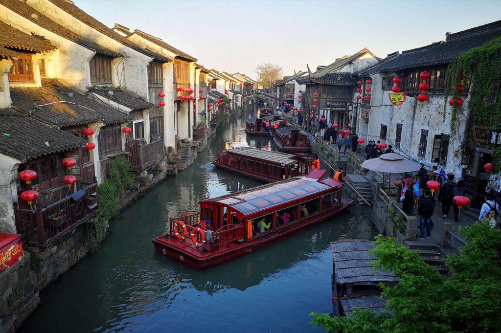 Water Town in Jiangsu